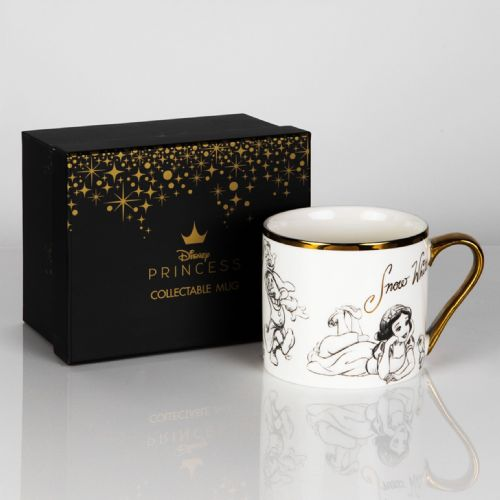 Disney Snow White New Bone China Collectable Contemporary Mug in Gift Box - SNOW WHITE